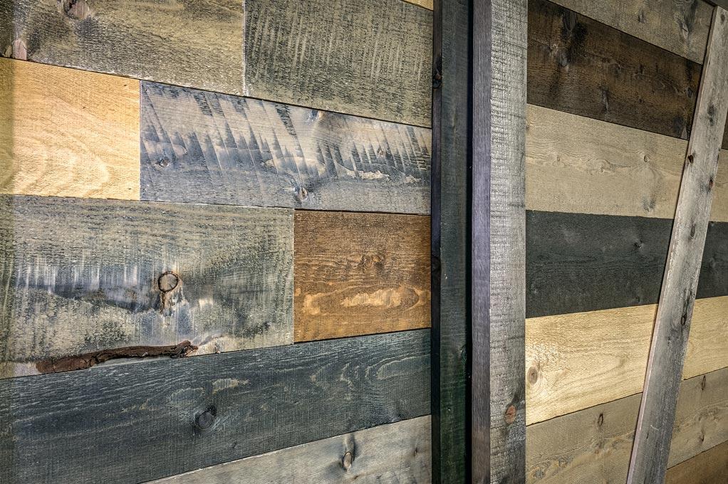 Modern Rustic Reclaimed Inspired Barn Wood Coeur D
