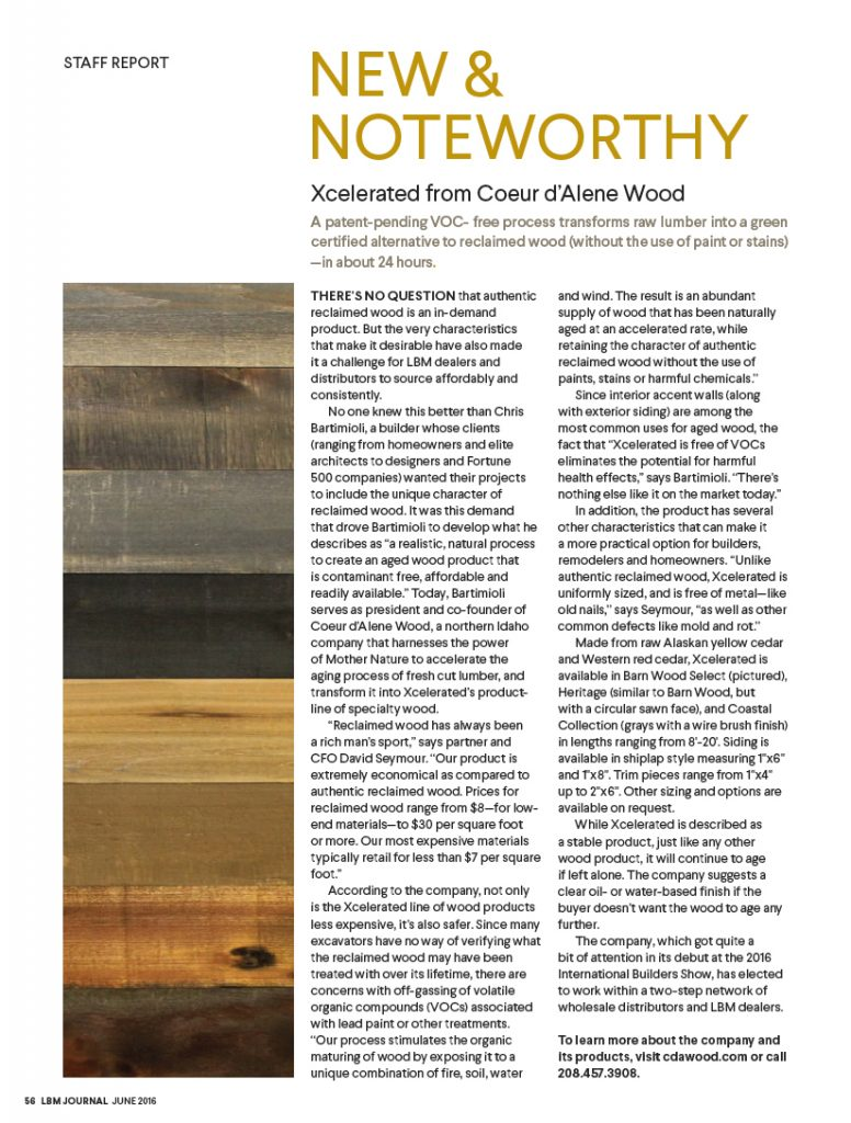 New & Noteworthy