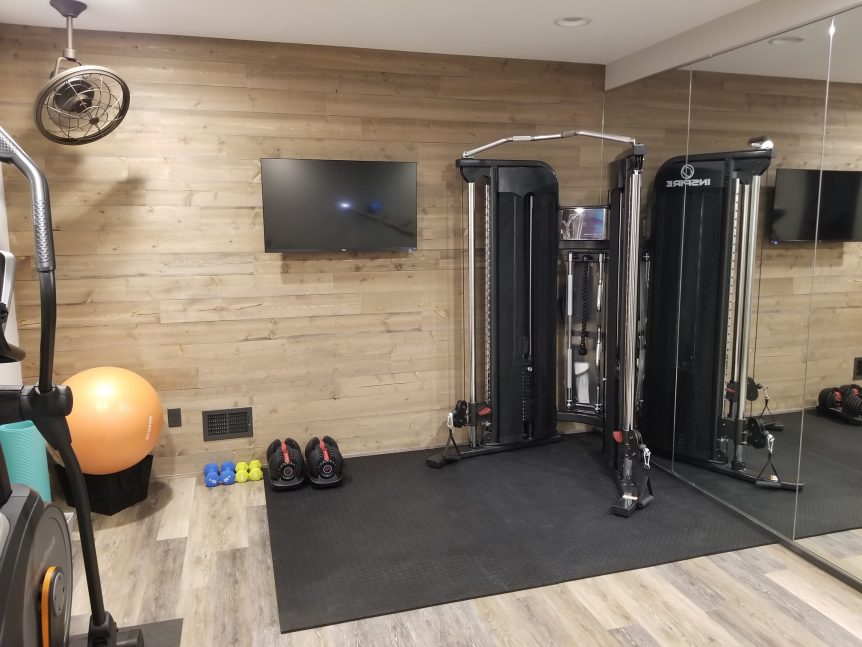 Versatex's Home Gym