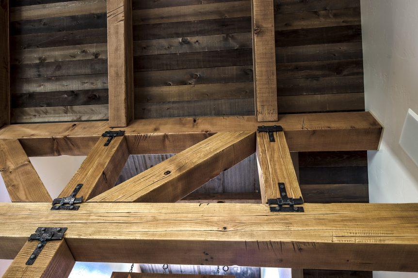 CDA Wood ceiling and beams